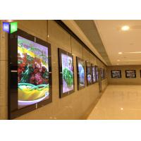 Buy Advertising Acrylic LED Menu Board Light Box Display Ultra Slim With Magnetic at wholesale prices