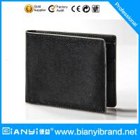 New Design Leather Wallet Card Holder with Zipper