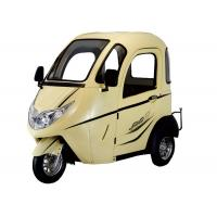 Quality Rear Drive Aluminium Hub Passenger Electric Tricycle for sale