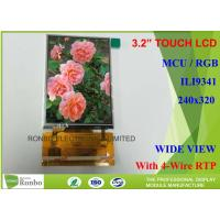 China Customizable Touch Screen LCD Display 3.2 For Digital Media Player on sale