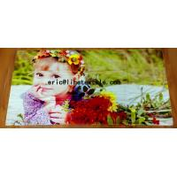 Quality 100% cotton photo printed beach towel 90X180CM , 400GSM for sale