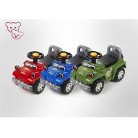 Buy cheap New Model Plastic Blue Toddler Ride On Toy Car With Music And Light from wholesalers