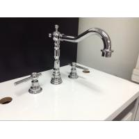 Quality Three Holes Installation Kitchen Tap Faucets Made of Low - Lead Brass for sale