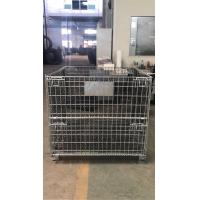 Quality Durable Steel Wire Containers 800kg Loading Capacity For Vegetables And Fruits for sale