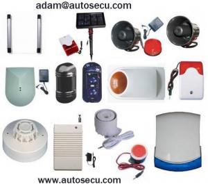 Quality Solar Siren|siren|IR Beams|horn|wireless Siren|flashing Siren|strobe Siren|alarm|burglar Alarm|security Alarm| for sale