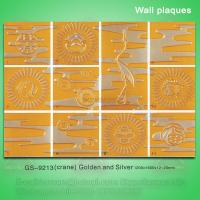 Quality Antique PU wall plaques for home decoration for sale
