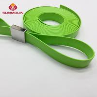 Quality Fireproof plastic TPU coated bus handle for bus/subway for sale