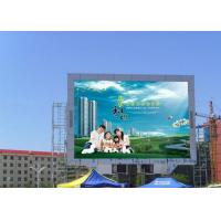 Quality Waterproof Outdoor Digital Advertising Billboards , P10 RGB LED Dot Matrix Dispaly for sale
