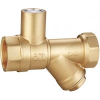 """Quality 1103 Straight Way Magnetic Lockable Brass Valve Quarter Turn Ball Type Sizes 3/4"""", 1"""", 1-1/4"""" with Filter Function for sale"""