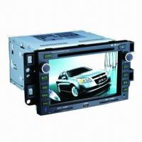 Quality OEM Digital In-dash DVD Player for Car, Supports Audio/Video/Auto-radio/DVD/GPS Satellite Navigation for sale