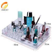 Quality Luxe Acrylic Modular System Luxury jewelry acrylic makeup case drawer for sale