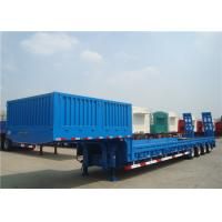 Quality 3/4 Axles Heavy Duty Low Bed Semi Trailer Steel Material High Load Capacity for sale