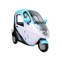 Quality Painted 60V 32Ah Battery Electric Passenger Tricycle for sale
