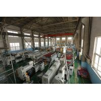 China High Performance PVC Foam Corrugated Sheet Machine For Building Material Plastic Extrusion Lines on sale