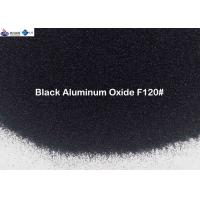 China Medium Hardness Black Aluminum Oxide Sand F12 - F240 For Polishing Stainless Steel on sale