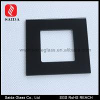 Quality 86MM Square decorative wall switch outlet cover plates frame window glass pane for sale