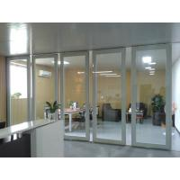 Quality Moving Office Glass Partition Walls , Hall Folding Glass Walls for sale