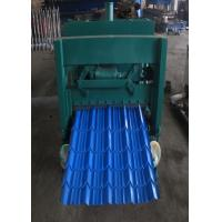 Buy cheap Metal Sheet Glazed Tile Roll Forming Machine For Building Material Production from wholesalers