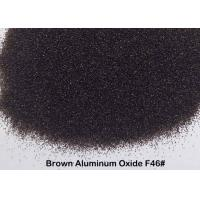 Quality Surface Preparation Brown Aluminum Oxide Grit High Compression Strength Blasting Media for sale
