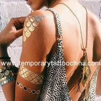 Quality Jewelry Inspired Metal Temporary Tattoos, Flash Tattoo Inspired Jewelry for sale