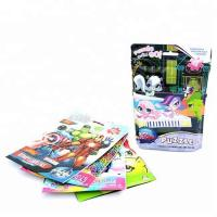 China aluminum foil toy packaging full color plastic resealable bags on sale