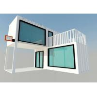Quality Prefabricated Movable Modified Steel Shipping Container Homes For Living Room for sale