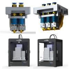 Buy cheap 350W Gross Power Digital 3d Printer High Precision 3d Printer 400 * 300 * 520 Mm from wholesalers