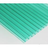 Quality 4mm 6mm 10mm 25mm transparent hollow polycarbonate roofing sheets for sale