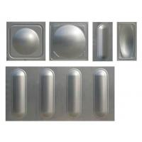 China Stainless Steel Storage 100000 Gallon Water Tank Environmental Assembly on sale