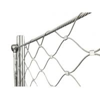 Buy cheap Architectural Flexible Cable Mesh SS Wire Rope Solid Structure For Stair from wholesalers