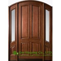 External Glazed Solid Timber Entry Doorfixed Sidelites Clear Or