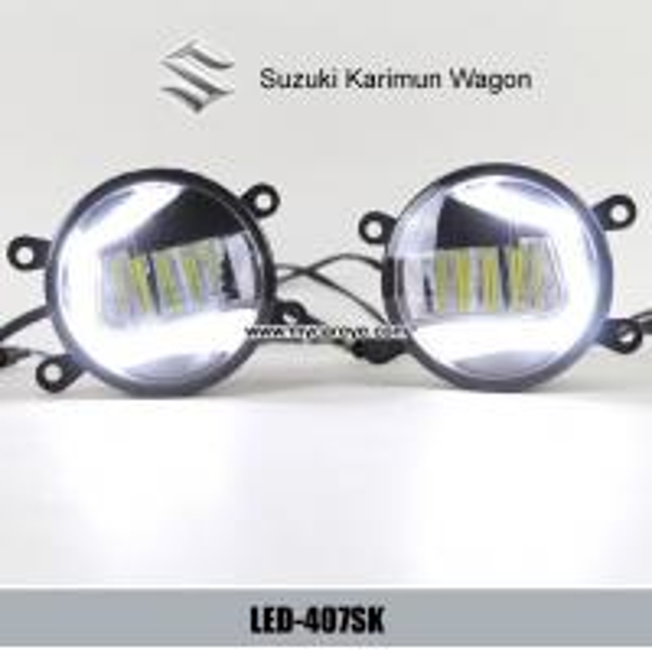 Suzuki Karimun Wagon fog lamp LED DRL daytime running lights