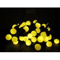 Quality yellow LED Ball String Light for sale
