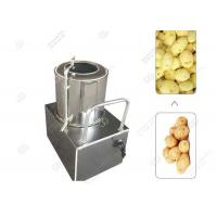 Quality Potato Carrot Washing And Peeling Two In One Machine Small Scale for sale