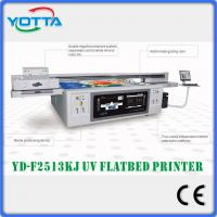 Quality High speed and high resolution uv led flatbed printer Kyocera 2513 for sale