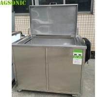 Quality 120 Cm Long Ultrasonic Cleaning Tank With Basket To Clean All Parts Before NDT Testing for sale