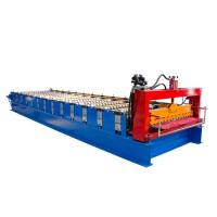 Buy cheap Single Layer Corrugated Roll Forming Machine , Corrugated Steel Panel Roll from wholesalers