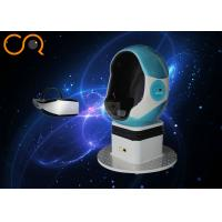 Quality Eggs Shaped Chair 9D VR Cinema Double Player For Amusement Park 220V for sale