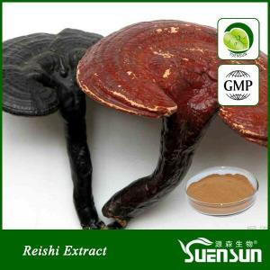 Quality Organic ganoderma lucidum reshi mushroom powder best price 10%-50% Polysaccharides for sale