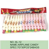 Quality Strawberry Airplane Low Fat Sour Powder Candy Funny HACCP Certification for sale