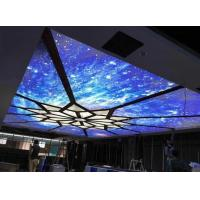 China Shadowless Stretch Ceiling Film For Indoor Meeting Room Customized Color on sale