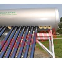 Quality Heat Pipe Solar Energy Water Heater , Integrated Solar Water Heater 300 Liter for sale