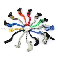 Quality Aluminum Motorcycle Brake Clutch Lever Adjustable Long Shorty Folding Levers for sale