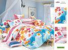 China OEM Personalized Queen Size Patterned Decorative 100 Cotton Plum Bed Sheet Sets on sale
