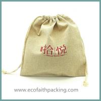 Quality Linen Bag drawstring bag, pouch bag Jute Jewelry Bags for sale