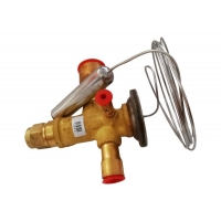 China TES2 R404a Freon Thermostatic Expansion Valve R507 Refrigeration Service Valves on sale