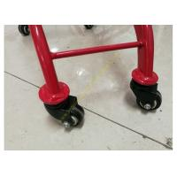Quality Kids Model Supermarket Shopping Cart / Red Color Shopping Trolley For Kids for sale