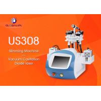 Quality CE Approved 6 In 1 Ultrasonic Cavitation Slimming Machine Wind And Water Cooling System for sale