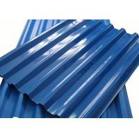 Quality 0.4 - 10mm Thick Color Coated Aluminum Corrugated Metal Roofing Sheets for sale