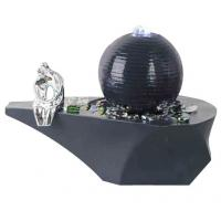 Cast Ball Lighted Tabletop Water Fountain , Small Table Water Fountains